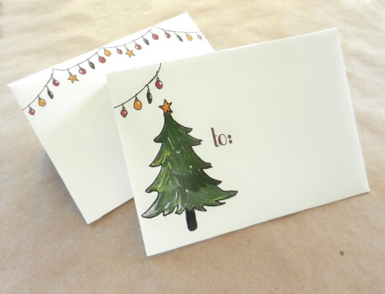 Printable Holiday Envelope Template