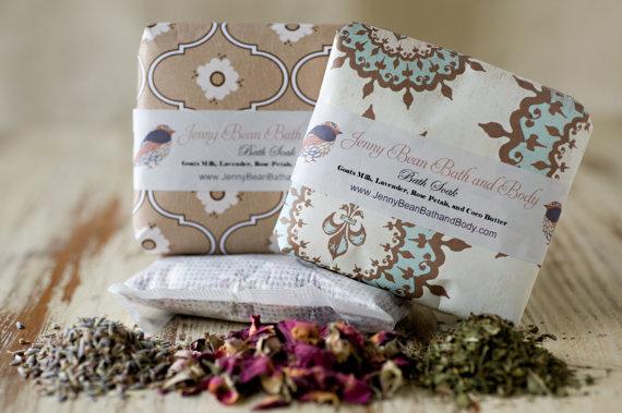 Bath Teas by Jenny Bean Bath and Body | Small Gift Idea - The Postman's Knock