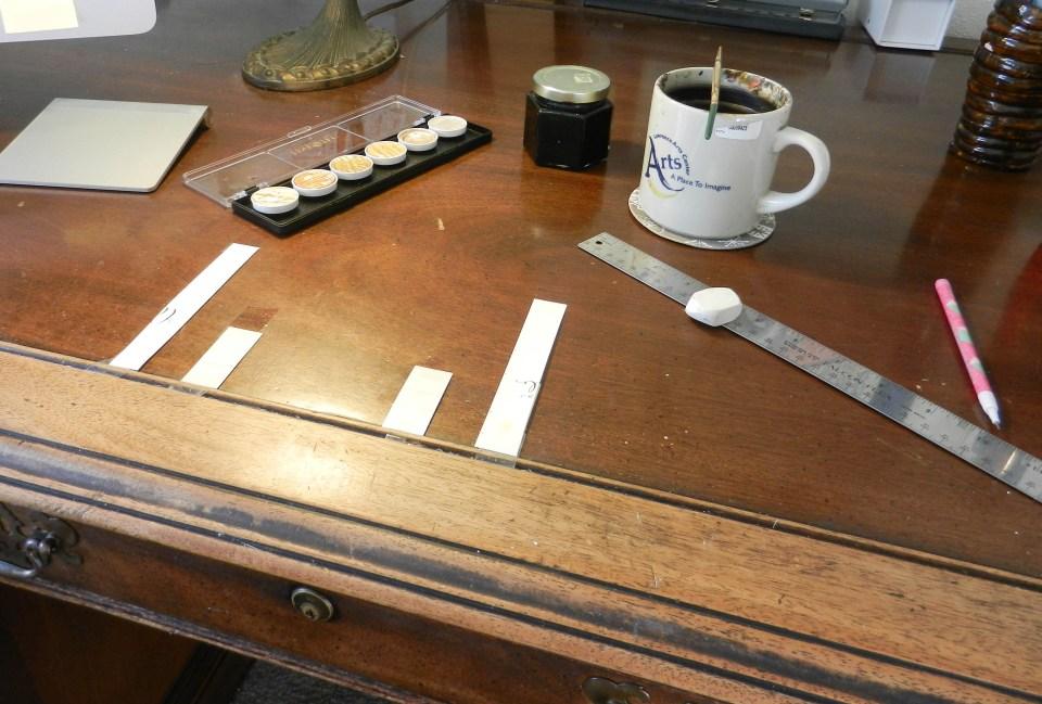 On Calligraphy Spacing | The Postman's Knock