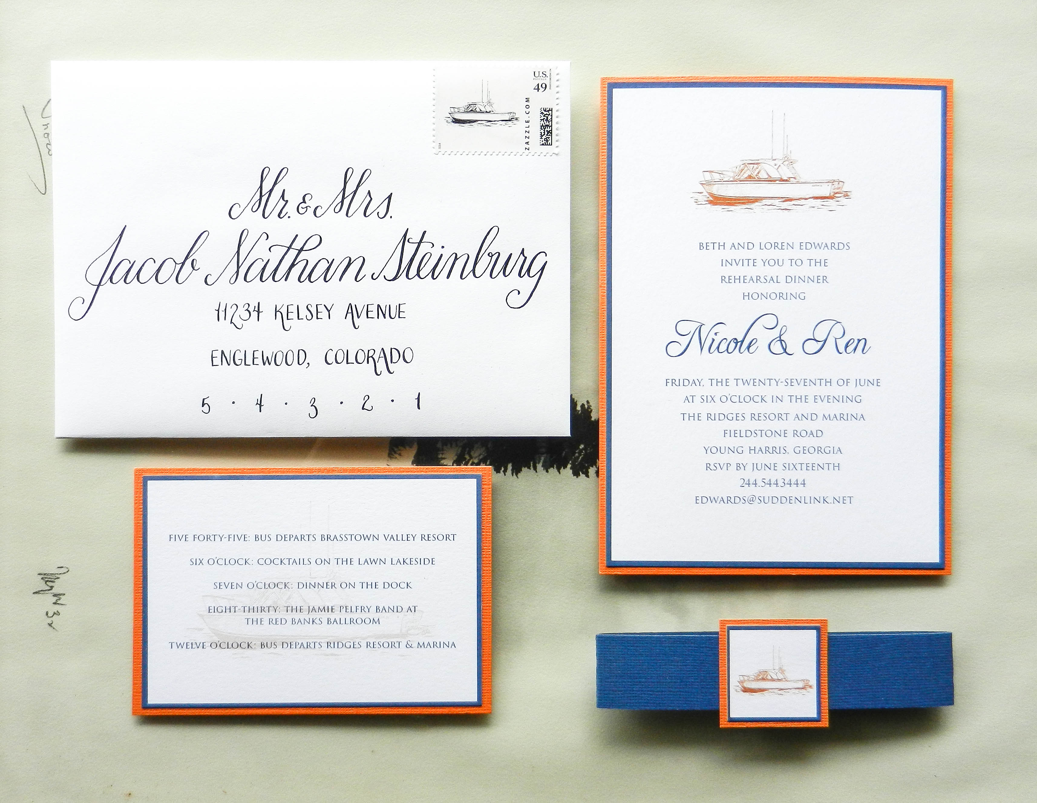 Proper Way To Address Wedding Invitations