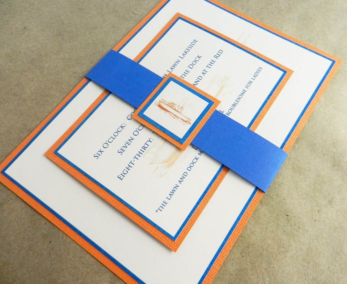 Invitation Mock-Up | The Postman's Knock
