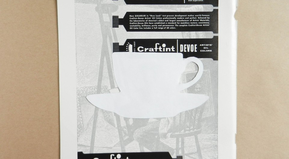 Teacup Template on Paper | The Postman's Knock