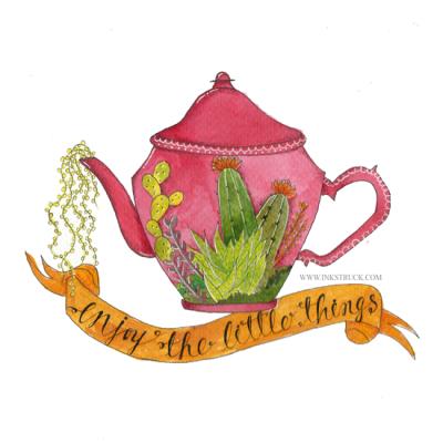 Simple Watercolor Illustration Tutorial