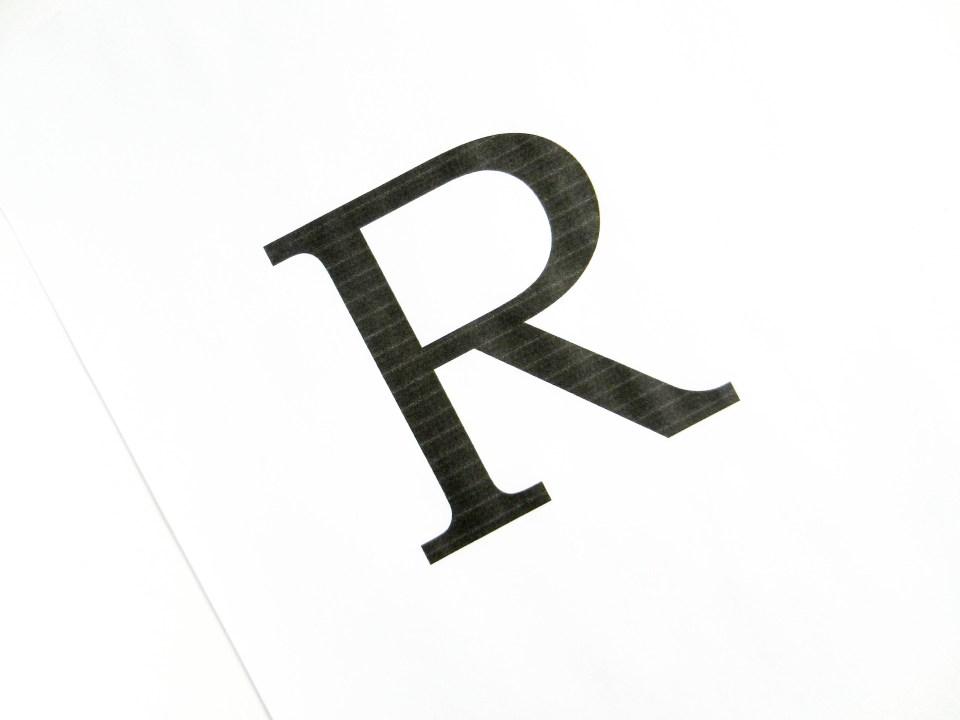 Typography Letter Art | The Postman's Knock
