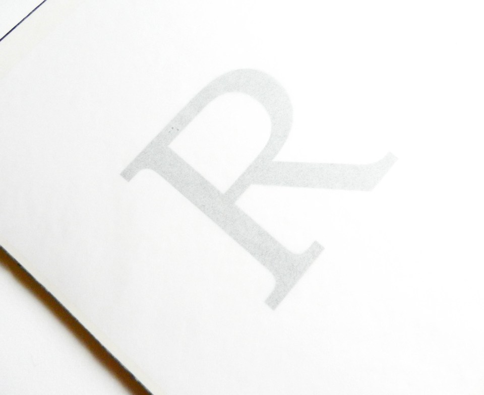 Typography Letter Art   The Postman's Knock