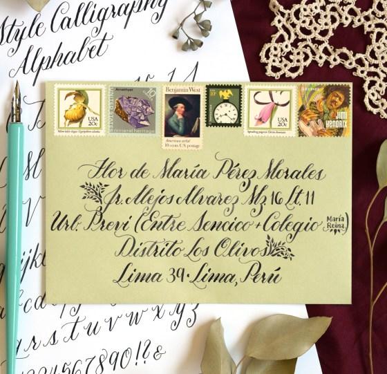 Beth Style Calligraphy Worksheet Set   The Postman's Knock