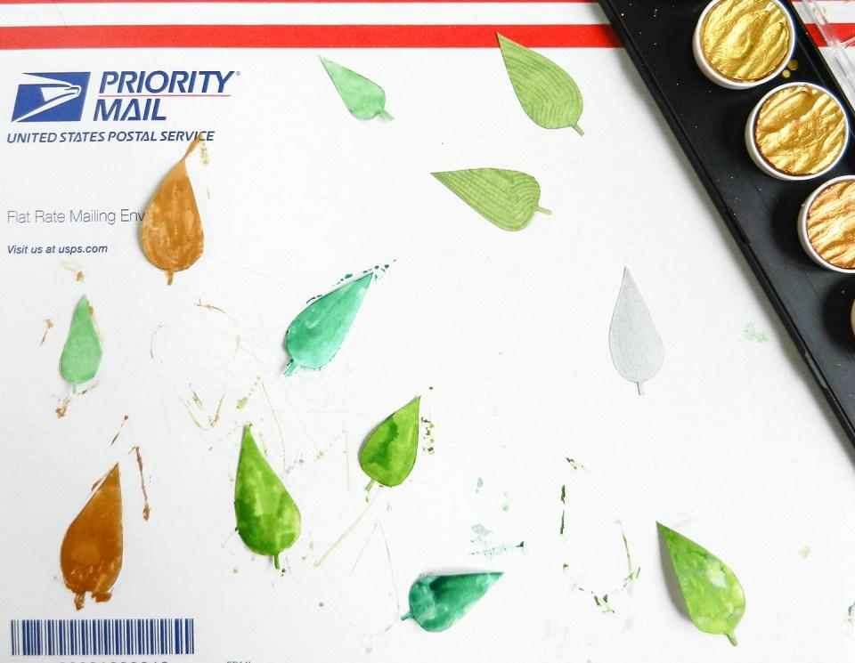 3D Leaf Card Tutorial | The Postman's Knock