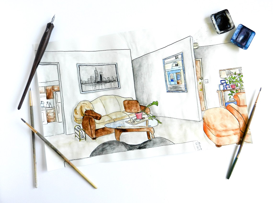 A Guide to Perspective Drawing | The Postman's Knock