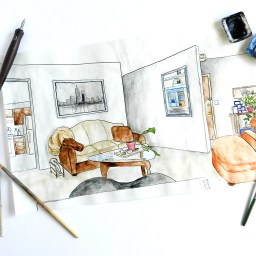 A Guide to Perspective Drawing   The Postman's Knock
