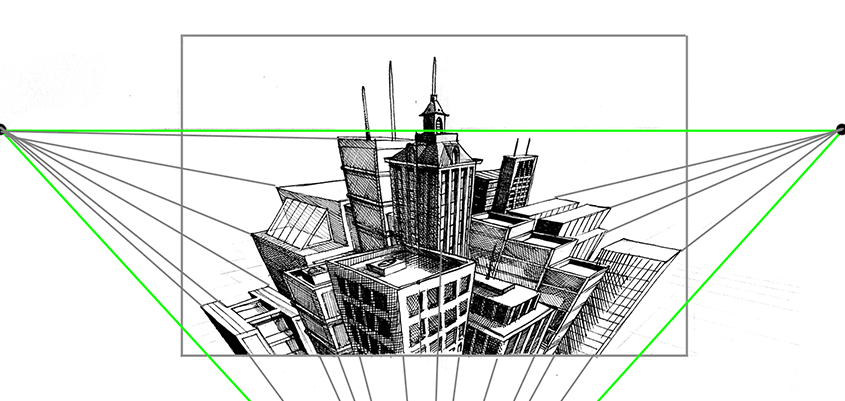 Architecture Drawing Guide guide to perspective drawing | the postman's knock