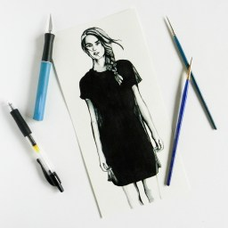 Contemporary Fashion Drawing Tutorial   The Postman's Knock