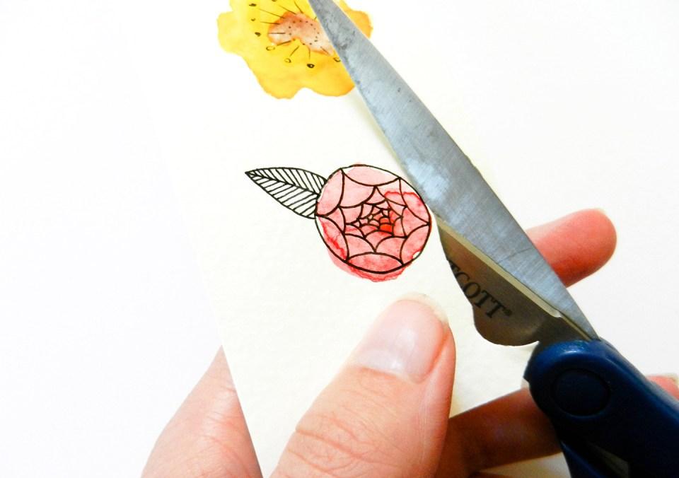 DIY Flower Confetti Tutorial   The Postman's Knock