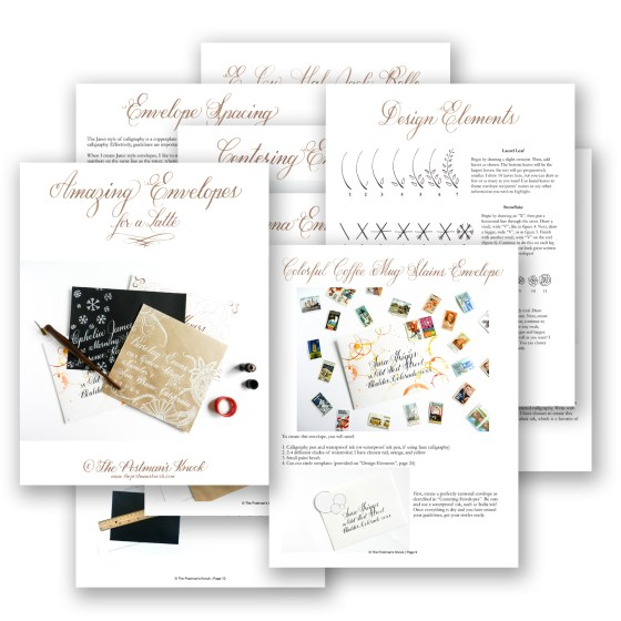 Amazing Envelopes for a Latté {Janet Style} | The Postman's Knock