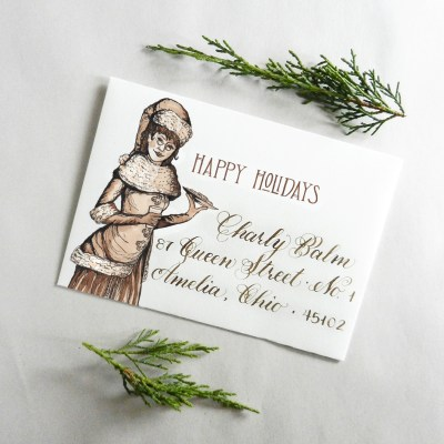 Printable Holiday Envelopes