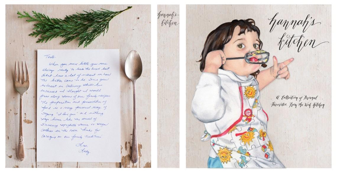 Custom Recipe Binder with Portrait   The Postman's Knock