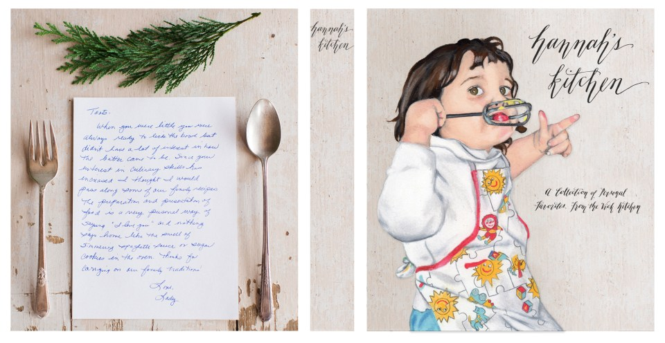 Custom Recipe Binder with Portrait | The Postman's Knock