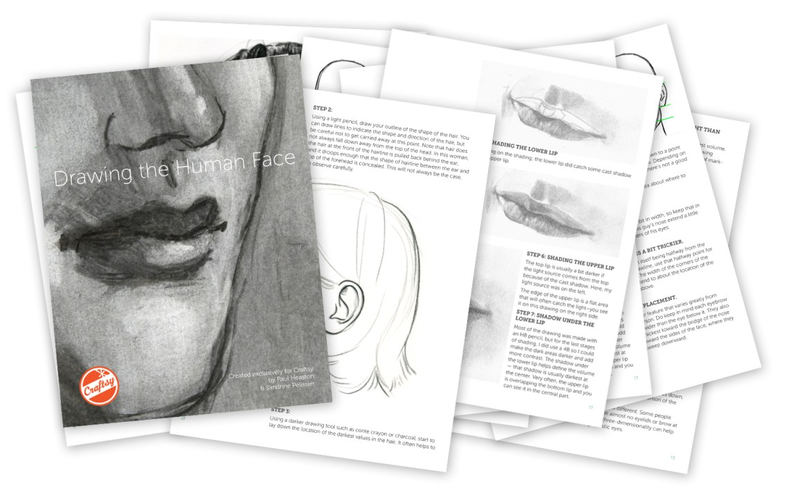 Free eGuide to Drawing the Human Face   The Postman's Knock