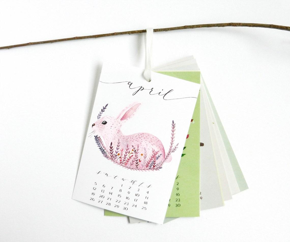 "4""x6"" Hanging Calendar | The Postman's Knock"