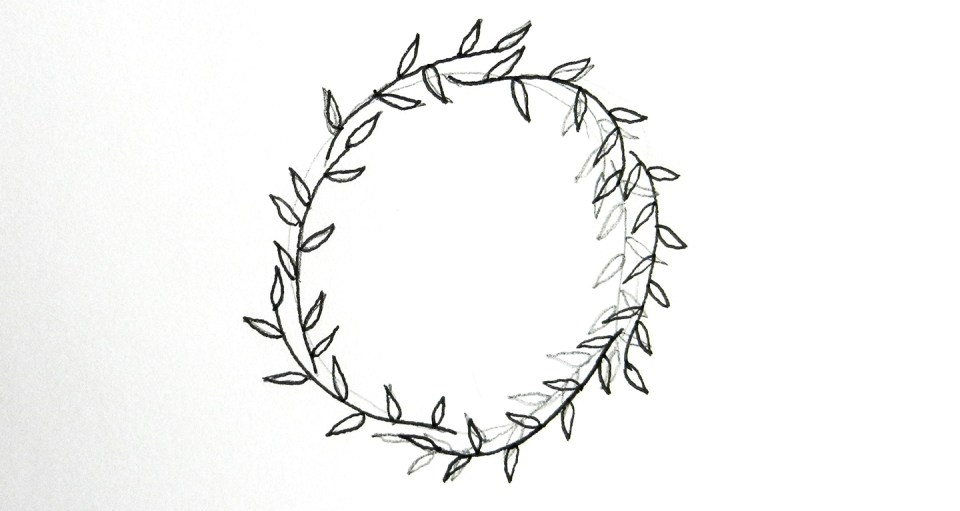 10 Ways to Draw Laurel Wreaths | The Postman's Knock