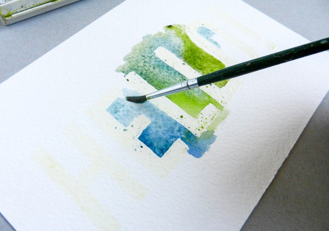 Easy Watercolor Art Tutorial | The Postman's Knock