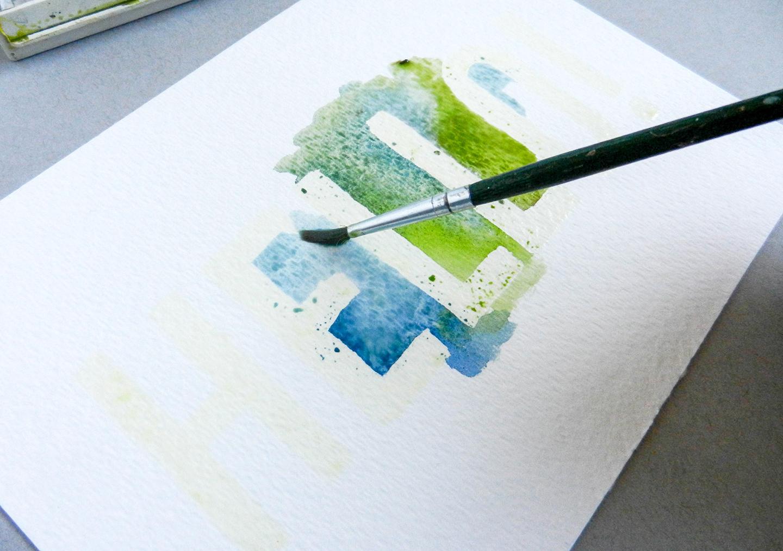 Easy Watercolor Art Tutorial | The Postman's Knock