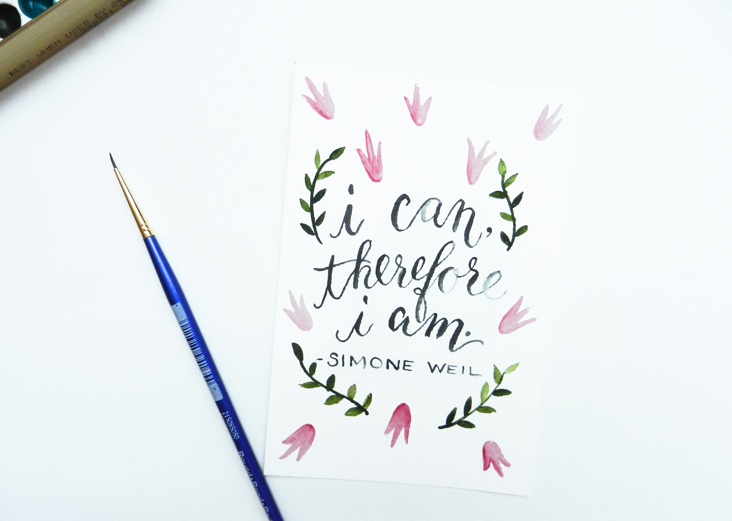 Watercolor Lettering  Free EWallpaper Download The