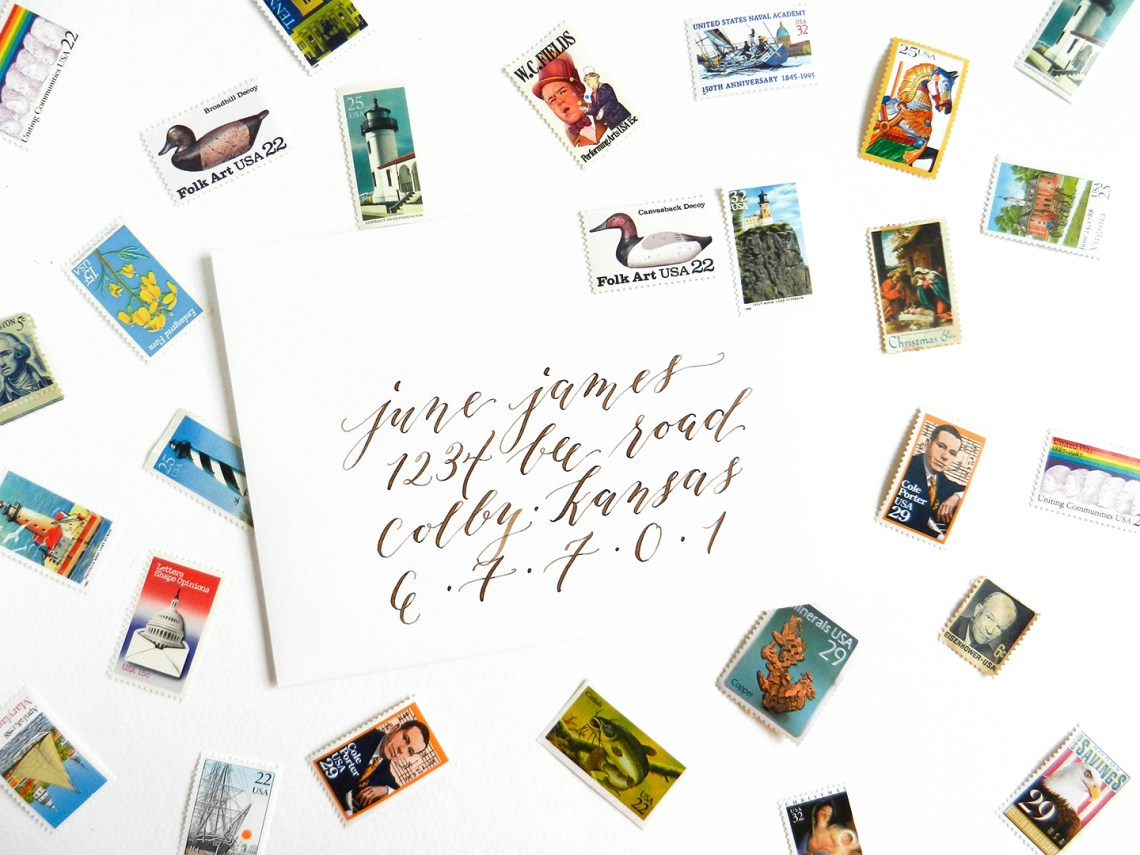 More Calligraphy Tips and Musings {Includes Videos + Giveaway} | The Postman's Knock