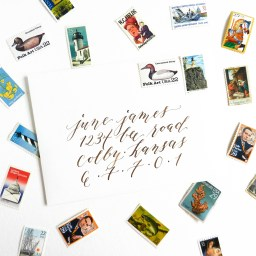 More Calligraphy Tips and Musings   The Postman's Knock