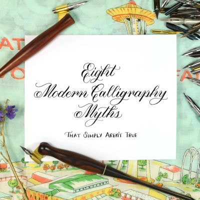 Eight Modern Calligraphy Myths