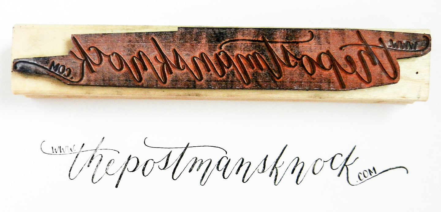 Five Simple Calligraphy Shortcuts – The Postman's Knock