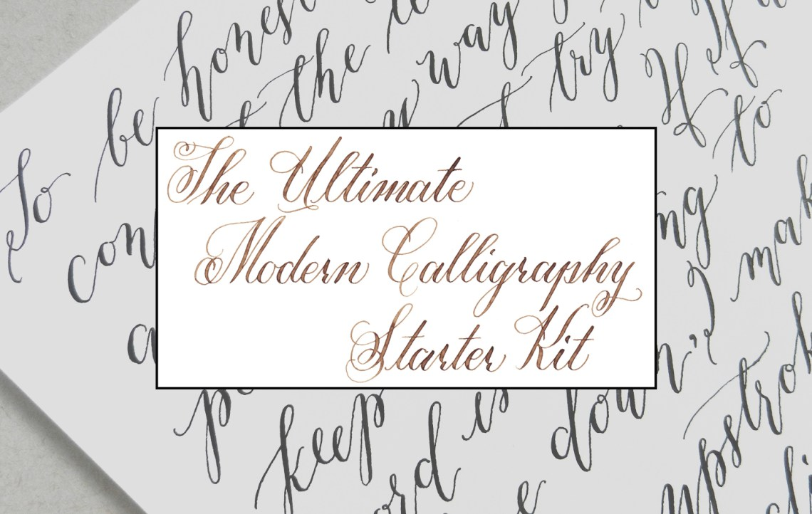 The Ultimate Modern Calligraphy Starter Kit The Postman
