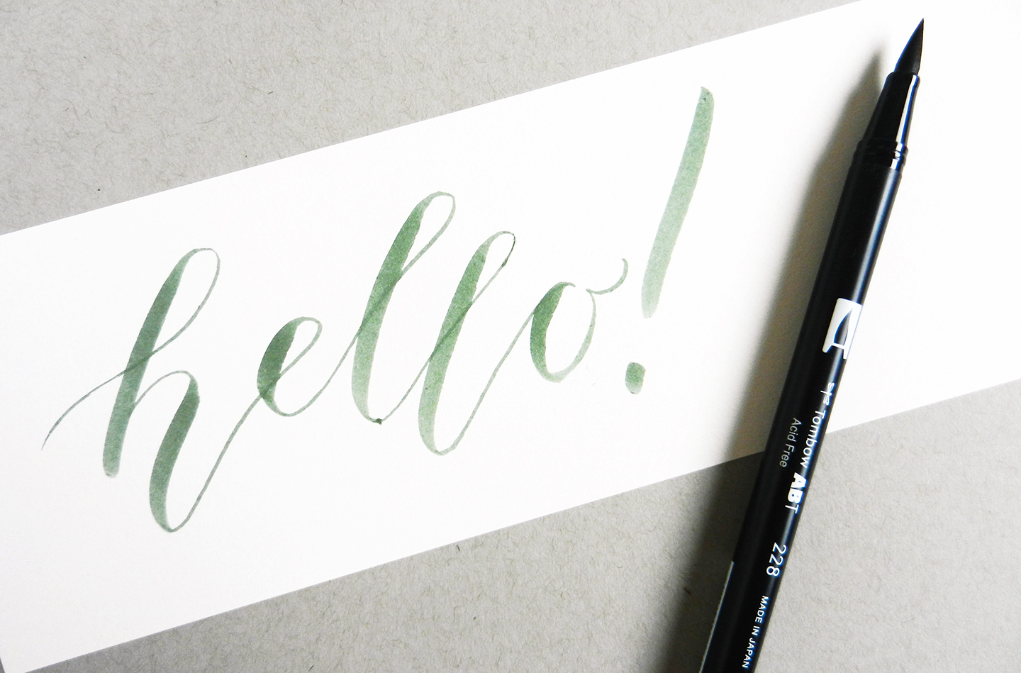 Creative Hand Lettering Tutorial Part I   The Postman's Knock
