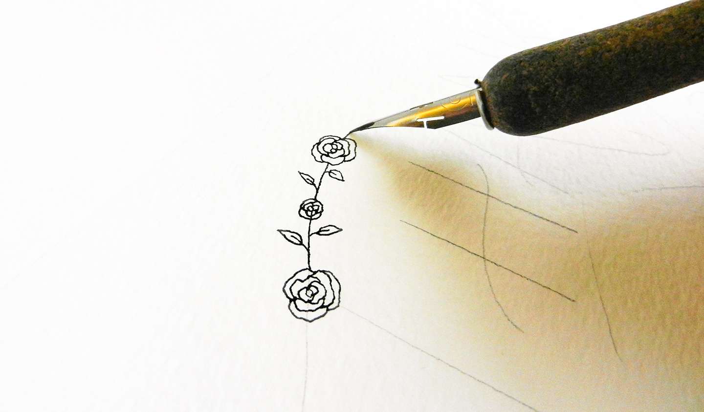 Creative Hand Lettering Tutorials Part I   The Postman's Knock