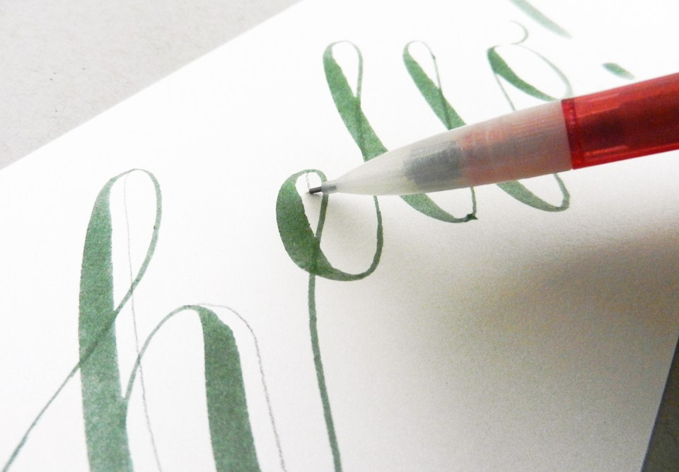 Creative Hand Lettering Tutorial Part I | The Postman's Knock