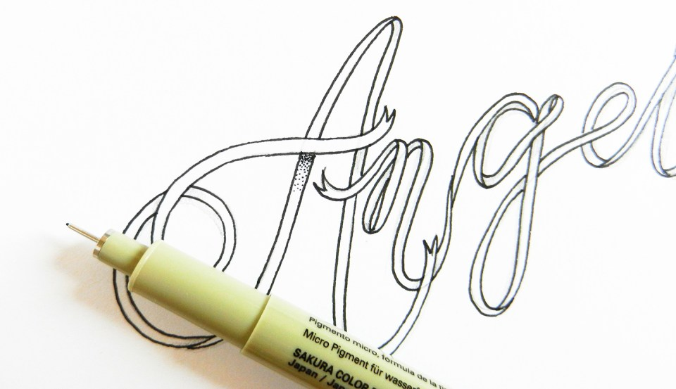 Creative Hand Lettering Tutorials Part II | The Postman's Knock