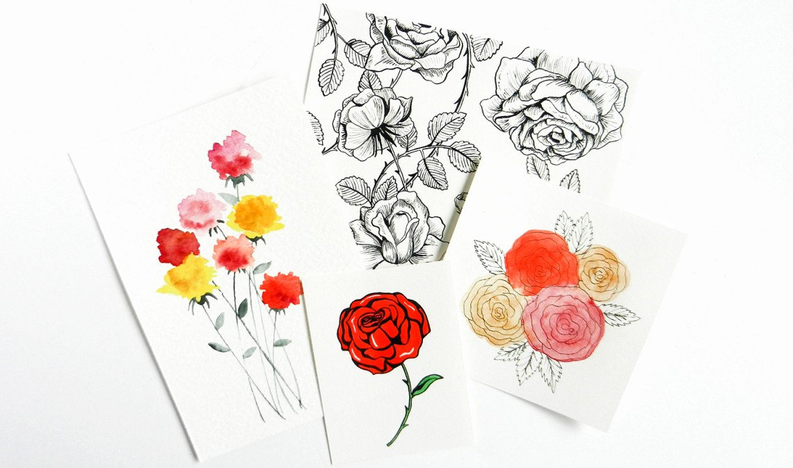 How to Draw Roses   The Postman's Knock