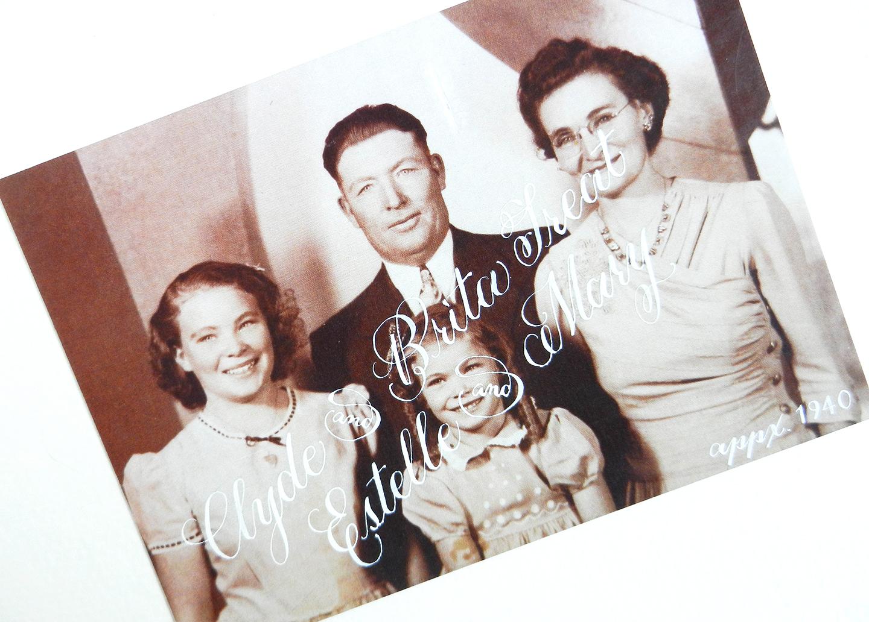 Vintage Photo Project: Embellished Postcards   The Postman's Knock