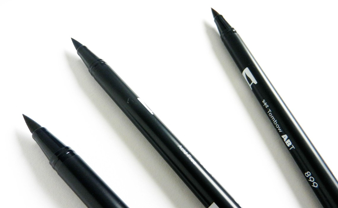 Brush pen tutorial giveaway the postman s knock