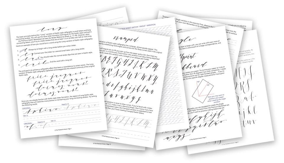 Kaitlin Style Variations Worksheet | The Postman's Knock