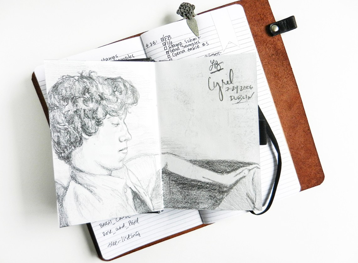 Traveling with Art and Calligraphy Supplies | The Postman's Knock