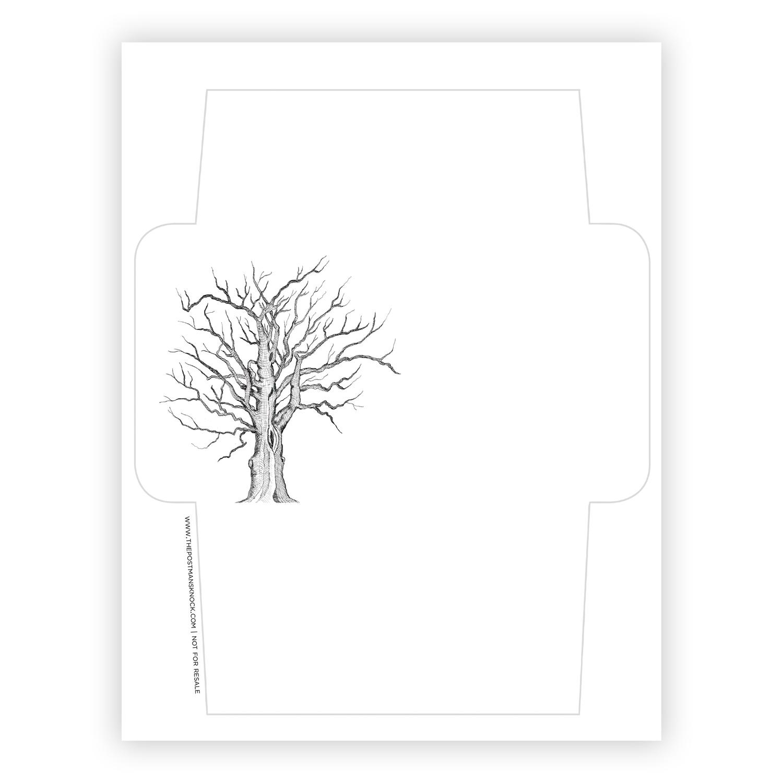 printable envelope template