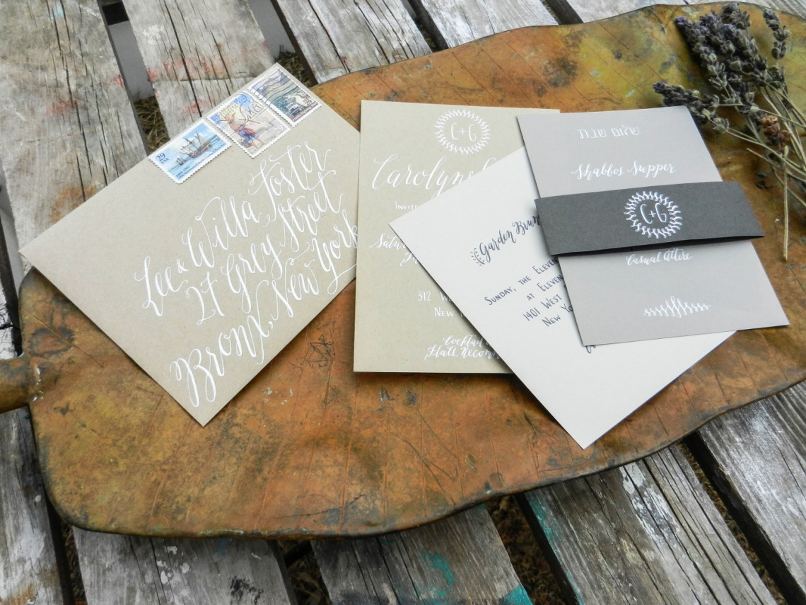 Writing with White Calligraphy Ink | The Postman's Knock