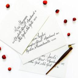 Addressing Envelopes for an Event   The Postman's Knock