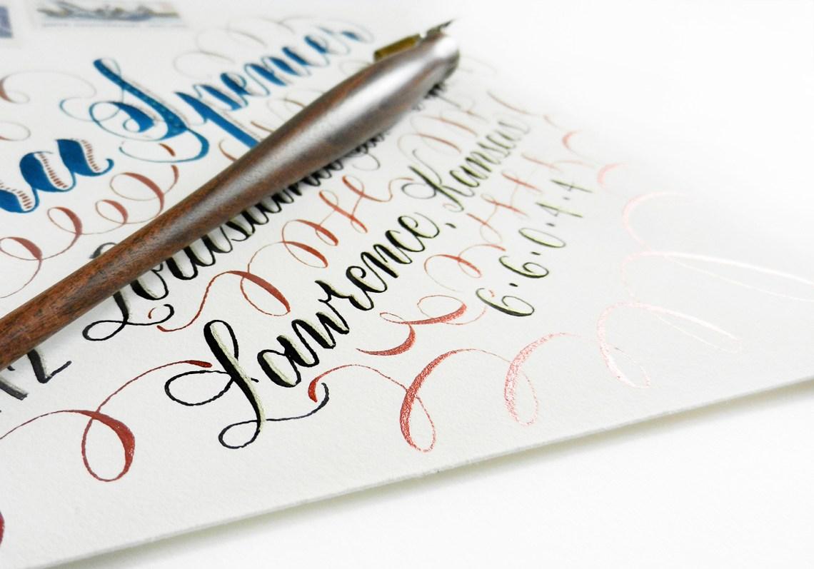 Calligraphy Flourishing for Beginners | The Postman's Knock