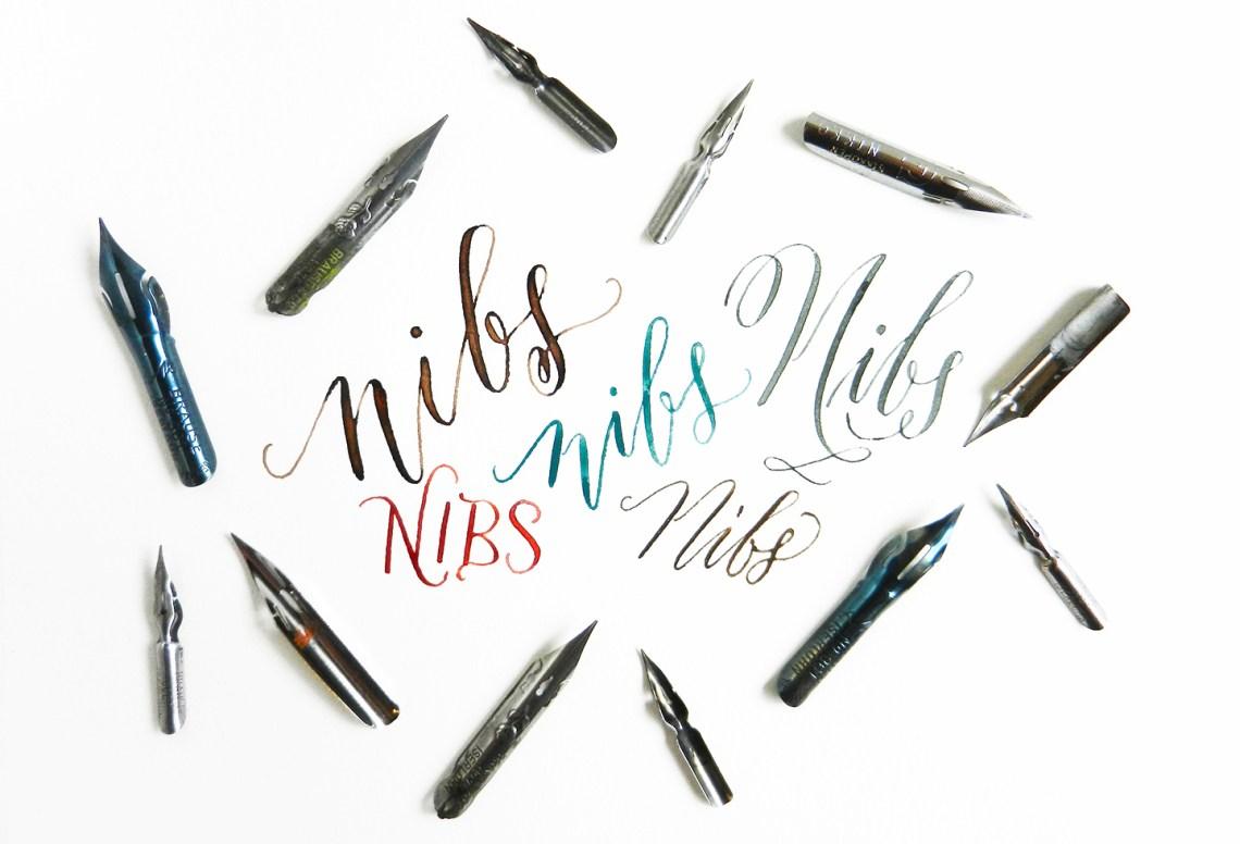 The Lowdown On Calligraphy Nibs The Postman 39 S Knock