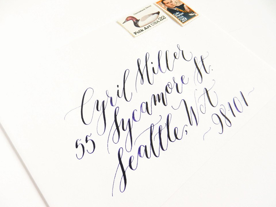 Seven New Calligraphy Tips to Make Life Easier | The Postman's Knock