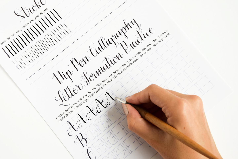 Handwritten Brush Style Modern Calligraphy Cursive Stock Vector ...