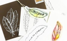 Three Simple Illustration Tutorials: Feathers | The Postman's Knock