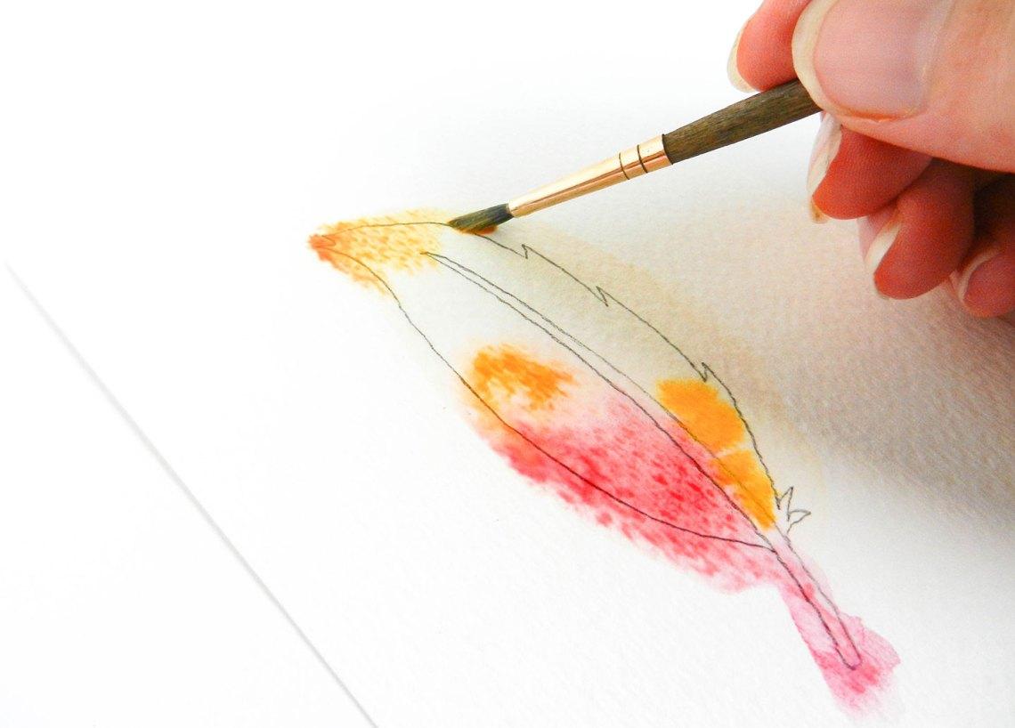 Three Simple Illustration Tutorials: Feathers | The Postman's Knock