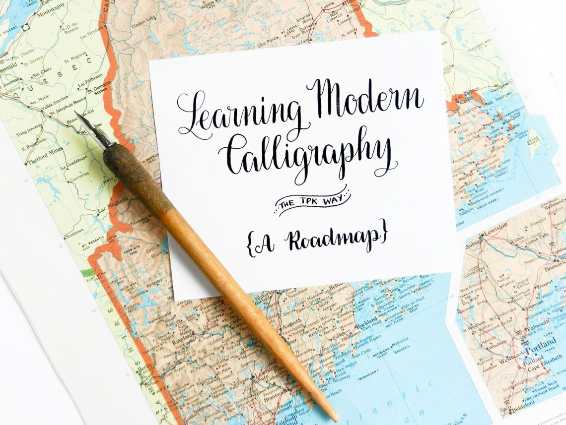 Learning Modern Calligraphy the TPK Way | The Postman's Knock